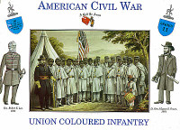 American Revolution Union Coloured Infantry (16) 1/32 Call to Arms