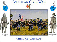 American Civil War Iron Brigade (16) 1/32 Call to Arms