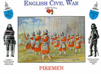 English Civil War Pikemen (20) 1/32 Call to Arms