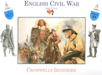 English Civil War Cromwell's Ironside Infantrymen Mounted (4) 1/32 Call to Arms
