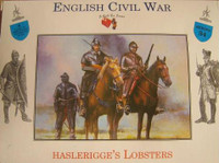 English Civil War Haslerigges Lobsters Cavalry Mounted (4) 1/32 Call to Arms