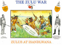 The Zulu War Zulus at Isandlwana (16) 1/32 Call to Arms