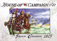 Napoleonic Wars 1815 French Cuirassiers (12) 1/72 Call to Arms