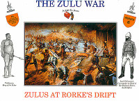 The Zulu War Zulus At Rork Drift (16) 1/32 Call to Arms