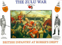 The Zulu War British Infantry At Rork Drift (16) 1/32 Call to Arms