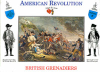 American Revolution British Grenadiers (16) 1/32 Call to Arms