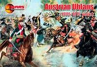 1805-1815 Austrian Ulans (15 W/12 Horses) 1/72 Mars