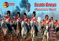 Napoleonic War Scots Greys (15 W/15 Horses) 1/72 Mars