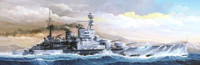 HMS Repulse WWII British Battle Cruiser 1941 1/350 Trumpeter