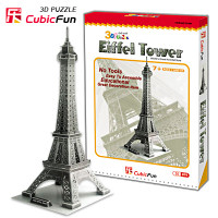 Eiffel Tower 3D Puzzle Paper Model