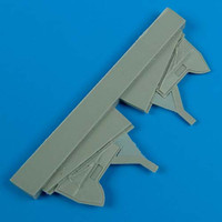 Hurricane Undercarriage Covers for HSG 1/72 Quickboost