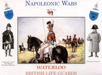 Napoleonic Wars Waterloo British Life Guards (8) 1/32 Call to Arms