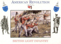 Revolutionary War British Light Infantry (16) 1/32 Call to Arms