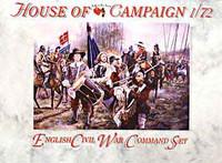 English Civil War English Command Set (32) 1/72 Call to Arms