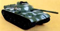 T54 Mod 1951 Tank (Camouflage) (Assembled) 1/144 Pegasus