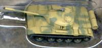 T54B Mod 1952 Iraqi Tank (Assembled) 1/144 Pegasus