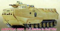 AAVP7A1 USMC 1991 Gulf War Tank (Assembled) 1/144 Pegasus