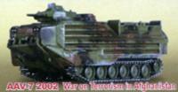 AAV7 USMC 2002 W.O.T. Afghanistan Tank (Assembled) 1/144 Pegasus