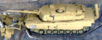 M1A1 USMC Gulf War Tank w/BSC (Assembled) 1/144 Pegasus
