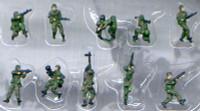 Modern American Infantry NATO Figure Set (10) (Pre-Painted) 1/144 Pegasus