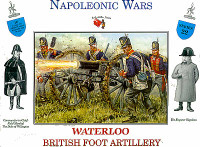 Napoleonic Wars British Foot Artillery (16) 1/32 Call to Arms