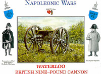 Napoleonic Wars British 9-Pound Cannon (1) 1/32 Call to Arms