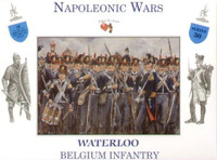 Napoleonic Wars Waterloo Belgium Infantry (16) 1/32 Call to Arms