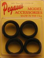 Bridgestone SO2's 225/50-16 Tires (4) 1/24-1/25 Pegasus