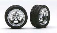 "Holis 23"" Chrome Rims w/Tires (4) 1/24-1/25 Pegasus"
