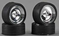 """CL's 23"""" Chrome Rims w/Tires (4) 1/24-1/25 Pegasus"""