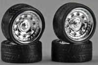 """Magnums 23"""" Chrome Rims w/Tires (4) 1/24-1/25 Pegasus"""