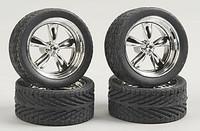 "T's 23"" Chrome Rims w/Tires (4) 1/24-1/25 Pegasus"