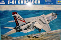 F-8J Crusader US Navy Fighter 1/32 Trumpeter