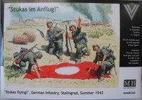 'Stukas Flying!' German Infantry Stalingrad Summer 1942 1/35 Master Box