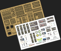 Flying Sub Interior Detail Combo Pack for MOE (Photo-Etched & Decals) 1/32 Paragrafix