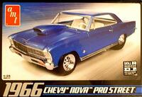 1966 Chevy Nova Pro Street 1/25 AMT