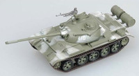 USSR Army T54 Tank Winter Camouflage (Built-Up Plastic) 1/72 East Model