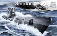 U-Boat Type VII C Submarine 1/350 AFV Club