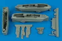 A-10A Thunderbolt II Wheel Bay (For Hobby Boss) (Resin Only) 1/48 Aires