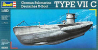 U-Boat Type VIIC Submarine 1/350 Revell Germany