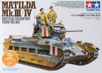 Matilda Mk III/IV British Infantry Tank 1/35 Tamiya