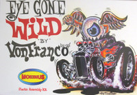 Von Franco's Eye Gone Wild Custom Vehicle 1/20 Moebius