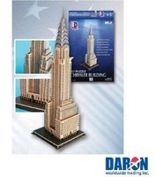 Chrysler Building 3-D Puzzle Daron