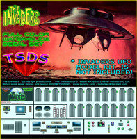 Invaders UFO Decals