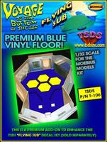 Moebius Flying Sub FS-1 Vinyl Floor Upgrade 1/32 (Large)