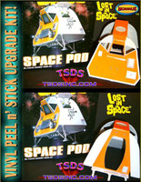 Moebius Space Pod Vinyl Upgrade Kit
