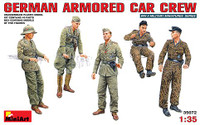 German Armored Car Crew (5) 1-35 Miniart