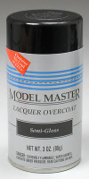 Semi Gloss Lacquer Clear Coat Testors