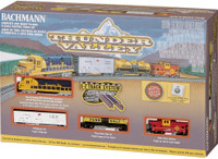 Thunder Valley N Scale Train Set Bachmann