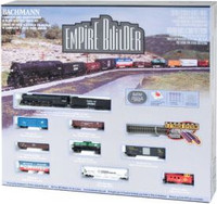 Empire Builder N Scale Train Set Bachmann